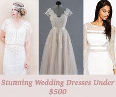 17 seriously stunning wedding dresses under $500