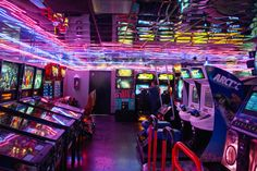 Retro arcade - slightly brighter color scheme than other examples