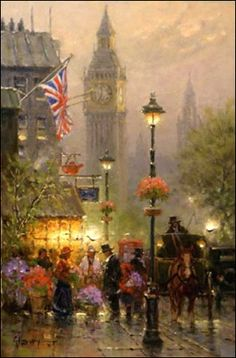 Old London ~ G. Harvey!