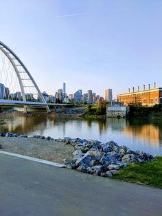 Edmonton River Valley Sydney Harbour Bridge, River, Rivers