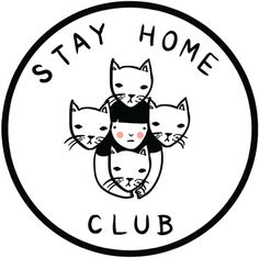 STAY AT HOME CAT LADY ILLUSTRATION INSPIRATION BLOG