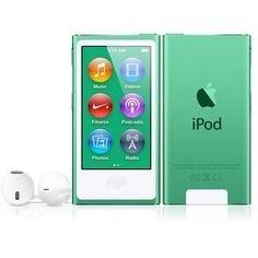 iPod Nano Apple 16 Gb verde $169