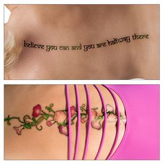 Flaunt Your Back Awesome Spine Tattoo Design Ideas For Women