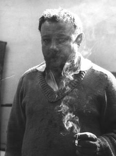 Portrait of Paul Rebeyrolle<br/>© Jeanne Bucher Jaeger