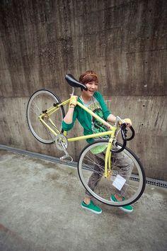 Fixed Gear Girl Taiwan
