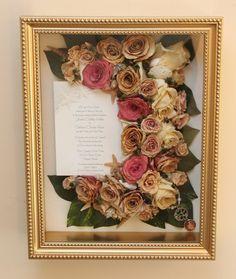 Wedding Bouquet Preserved