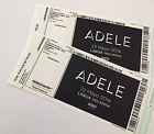 #Ticket  2 Tickets Adele in Lissabon Lisboa Lisbon  Golden Circle  direkt vor der Bühne #Ostereich