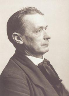 Portraitkarte von Rudolf Steiner