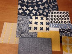 Custom pillows scheming... The best finishing touch in any interior project! #xorelfinaltouch @carnegiefabrics