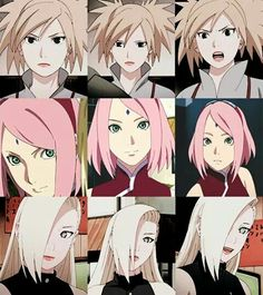 They are strong,beautiful, independent and loyal.... No sakura no. sakura useless.. But Temari and Ino yes. :)