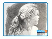 Graphite or Pencil Drawing Tutorials-how-to-draw-hair-free-drawing-lessonHow to Draw Hair