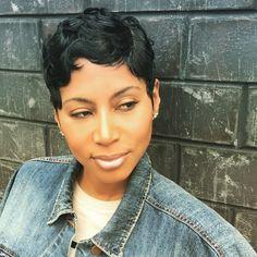Women Hairstyles For Fine Hair .Women Hairstyles For Fine Hair Dope Hairstyles, Short Black Hairstyles, My Hairstyle, Pixie Hairstyles, Drawing Hairstyles, Saree Hairstyles, Bandana Hairstyles, Simple Hairstyles, Everyday Hairstyles