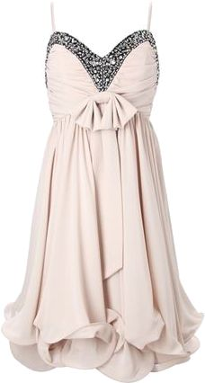 beautiful, except for the bow. Not a fan of bows; I think it goes back to that prom dress :)