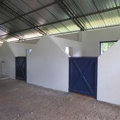 Portas para Baia instalada no Haras Vendaval em Boituva