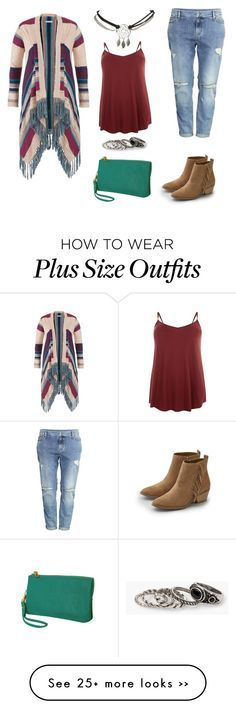 "I just love how that top fits. Not too tight.       Plus Size Native Influenced Casual"" by iknaq on Polyvore featuring maurices, H&M, American Eagle Outfitters, Humble Chic, Wet Seal and MANGO"