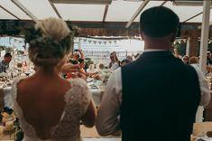 beach side wedding | Image by Thuriane Photography   #beachwedding #wedding #beach #coast #sand #sea #ocean #bride #groom #realwedding #france #frenchwedding