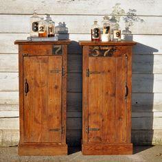 Woolen Mill Salvaged Timber Cabinet – Medium