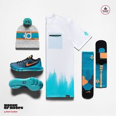detailed look 4ea6d a431b The  Nike KD 8 Road Game Collection. Available in stores or online at  footlocker.com. by footlocker  SoleInsider