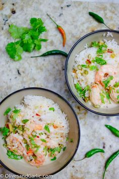 Shrimp in Spicy Coconut Broth