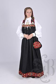 Folk Costume, Costumes, Norwegian Clothing, Damask, Norway, Traditional, My Style, Clothes, Beauty