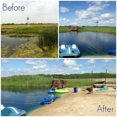 When you add a pond to your land, it can be challenging to prevent pollution and dense algae blooms. An expert source shares how to naturally maintain a pond. Backyard Water Feature, Ponds Backyard, Backyard Waterfalls, Garden Ponds, Koi Ponds, Natural Swimming Ponds, Natural Pond, Swimming Pools, Outdoor Water Features