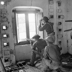 British soldiers in Salerno. September 1943