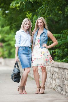 Denim and Denim | Fashion Column Twins