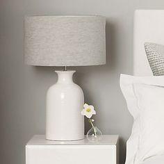 Ceramic Bottle Table Lamp