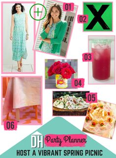Host a vibrant spring picnic inspired by the season's hottest hues and flavors >> http://blog.hgtv.com/design/2015/05/12/spring-house-inspired-garden-party/?soc=pinterest