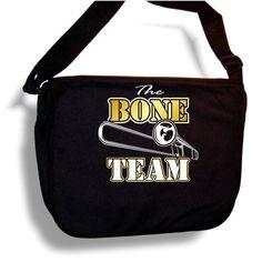 Trombone The Bone Team - Sheet Music Accessory Bag MusicaliTee MusicaliTee http://www.amazon.co.uk/dp/B004O1HEXM/ref=cm_sw_r_pi_dp_636Hvb1HDNCEF