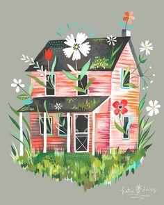 Prairie Home by katiedaisy, via Flickr