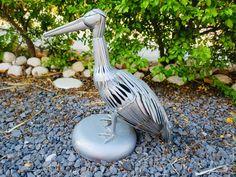 Steel Sculpture, Golf Clubs, Sculptures, Stainless Steel, Sculpture