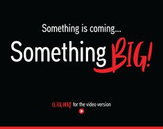Something is Coming... Something BIG! #somethingbigiscoming #watchthisspace #anticipation #photo2print #expectation #watchoutforit #somethingbig #waitforit #youwillsee #photo2print