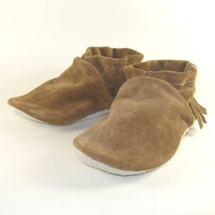 Soft Sole Eco Friendly Leather Baby Shoes Moccasins 12 by KaBoogie, $30.00