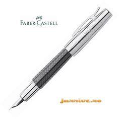 Faber-Castell e-motion Fountain Pen Parquet Black 148240