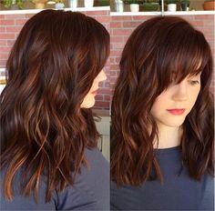 11+ Best Dark Auburn Hair Color Ideas - Page 10 of 12 - The Styles | The Styles | 2017 The Best Style for Women