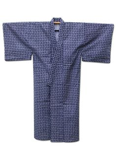 Fuji Kimono #FathersDay gift idea No.4 ☆ 'Life of Pi' - Men's #vintage #Japanese hand-stitched #cotton #yukata #kimono with a geometric pattern - http://www.fujikimono.co.uk/mens-cotton-kimono/life-of-pi.html