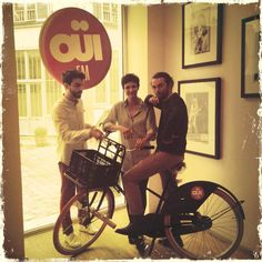 We Were Evergreen radio session on Oui FM