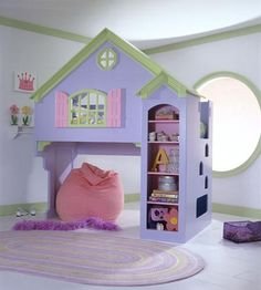 Cuartos de niños: muebles divertidos y originales