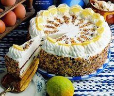Tejszínes túrótorta - készítette Czermann János mestercukrász How To Make Cake, Food To Make, Cookie Recipes, Dessert Recipes, Torte Cake, Hungarian Recipes, Dessert Drinks, Cakes And More, Sweet Recipes