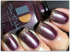 Dare To Wear Night At The Cinema has us feeling classy! #LeChatNails