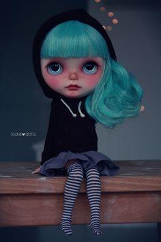 Eve Blythe custom art ooak doll by Jodiedolls