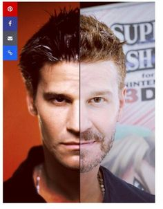 David Boreanaz then as Angel and now...