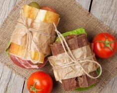 Duo de sandwichs jambon et crudités futées à emporter
