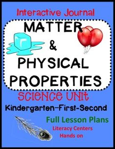 Full lesson plans with standards, and differentiation. Hands on engaging activities and printables. Science Activities For Kids, Sorting Activities, Kindergarten Science, Teacher Helper, Student Teacher, Elementary Teacher, Turn And Talk, Interactive Journals, Matter Science