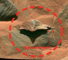 UFO SIGHTINGS DAILY: New Photo Found Revealing Same Woman Figure On Mars, UFO Sighting News.