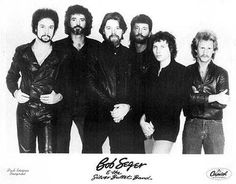 Bob Seger & The Silver Bullet Band Press Kit Photo https://www.facebook.com/FromTheWaybackMachine/