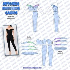 KiVita MoYo : ENTERIZO HOMBROS CAIDOS Pattern Draping, Corset Pattern, Sewing Hacks, Sewing Tutorials, Sewing Projects, Sewing Class, Love Sewing, Dress Sewing Patterns, Clothing Patterns