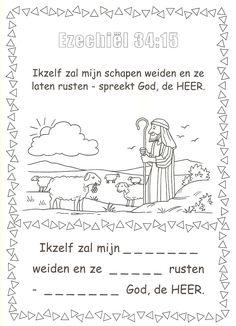 Ezechiel 34:15 schapen weiden