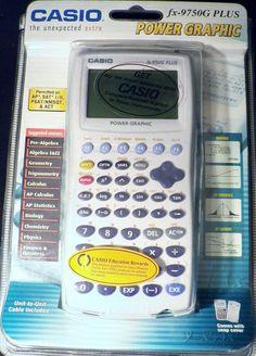 77c88c032cba Casio FX-9750G Plus Power Graphing Calculator ACT AP SAT I II PSAT  Permitted  Casio